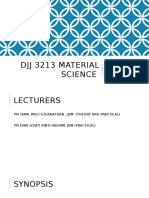 Chapter 1 Introduction on Material Science