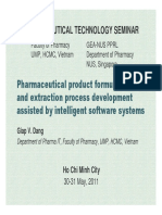 Pharmaceutical Preformulation