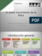 El Doble Movimiento de La Ética Contemporánea. La Dialéctica de Lo Particular y Lo Universal - Singular (Clase Inaugural)