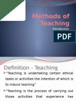 1. Methods of Teaching Introduction VI (0).pptx