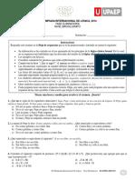 2014 Examen Bachillerato Eliminatoria