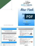 2016 DNC New York Delegation Schedule