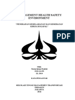 management health safety Environment