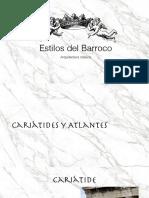 cariátides, atlantes y barroco mexicano