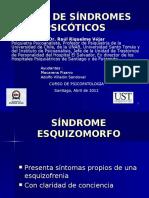 Tipos de Sindromes Psicóticos Clase 5 11 3737373773e Abril