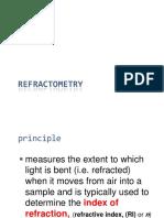 Refractometry