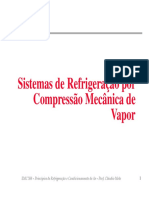 Sistemas de Refrigeração por Compressão Mecânica de Vapor