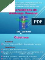 Generalidades Anatomia Humana