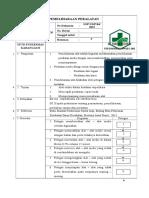 p (31)7.3.2.2 Sop Pemeliharaan Peralatan, Sop Sterilisasi, Pemeliharaan Alat