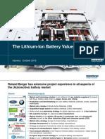 Li battery market
