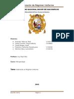 Calibración en Régimen Uniforme 1
