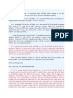 Persoane Afiliate - Selectii Cod Fiscal