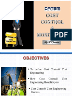 Cost Control & Monitoring