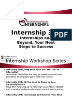 internship 301 workshop video