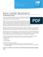 Activated Carbon Applications for Drinking Water Production