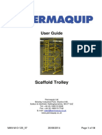 Scaffold Trolley User Guide - Man-m-o-125 07