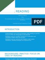 003. Reading
