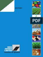 IndoAMines Annual reort 2015-2016 India corporate