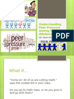 Understanding Peer Pressure Among Young Adolescents