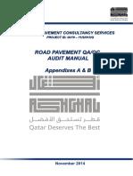 Road Pavement QA-QC Audit Manual_Appendixes a & B