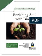 Team EWB-Enriching Soil With Biochar