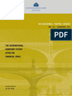 Int'l Monetary System After the Financial Crisis