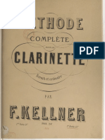 Méthode complète de clarinette - F.KELLMER - Volume 2