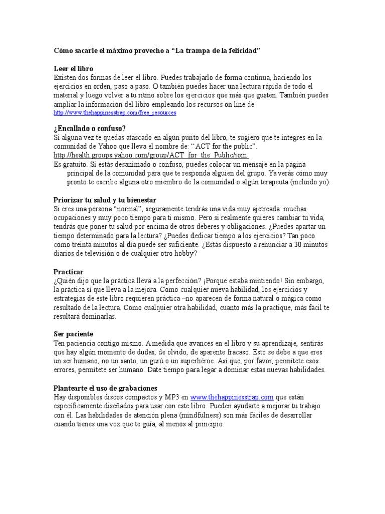Fichas de Trabajo Que Complementan a La Trampa de La