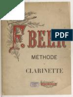 Méthode complète de clarinette - F.BEER