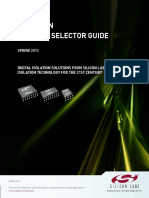 Isolation Selector Guide