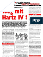 """Positionen gegen den Kapitalismus 2004-08 """"Hartz IV"""""""