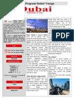 Dubai - Senior Voyage 2016-2017 Fly Dubai Bucuresti