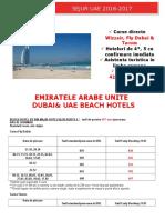 Oferta Generala UAE, Dubai& UAE Beach Hotels Oct 2016-Apr 2017 (Bucuresti)