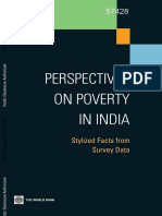 Perspective of Poverty in India World Bank.pdf
