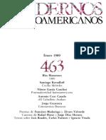 Cuadernos hispanoamericanos 463 1989