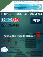 TOGAF 9.1 Online Training