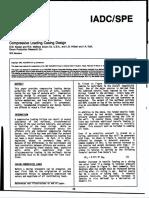SPE 19923 Compressive Load Casing Design