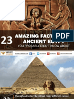 23 Amazing Facts About Ancient Egypt