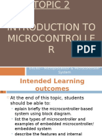 2 Introduction to Microcontroller Pic 15dis2010
