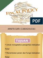 Kebijakan Fiskal Pmp