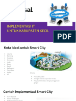Proposal Implementasi IT Kabupaten Kecil