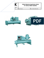 Chiller Materials Application Guide for Various Water Conditions