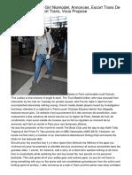 Nyamodel , Escort Girl Niamodel, Annonces, Escort Trans De Paris, France, Escort Trans, Vous Propose