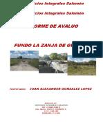 Informe de Avaluo Fundo La Zanja de Guanipa