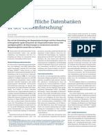 Datenbanken in Genomforschung