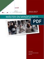 Dosier Master en Mindfulness 0