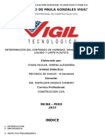 Informe de Mecanica Granulometria