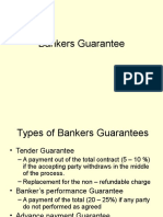 Bankers Guarantee
