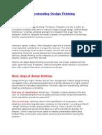 Design Thinking - Pharma