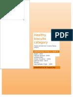 Reseach Design - Health & Wellness